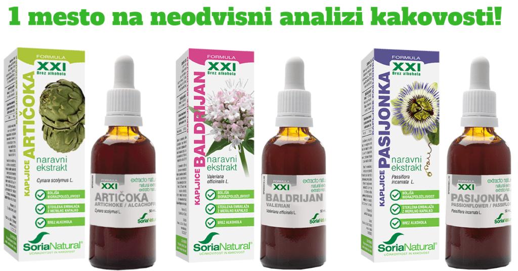 Soria Natural 1 mesto na analizi kakovosti