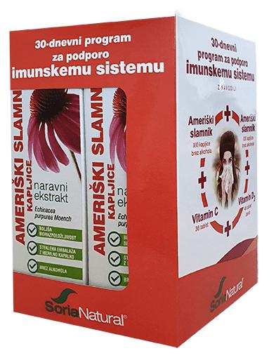 Imunski paket 30 dni z darilom Soria Natural